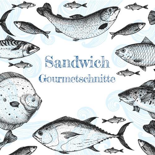 Sandwich Gourmetschnitte