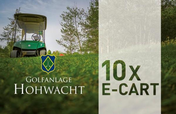 10er-Karte E-Cart