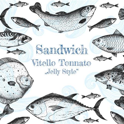 """Sandwich Vitello Tonnato """"Jelly Style"""""""