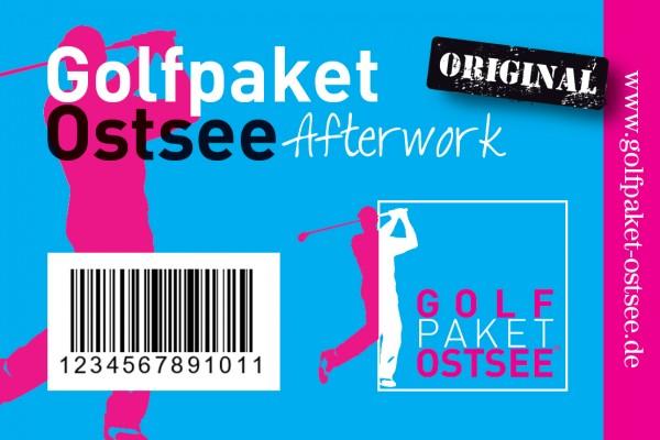 Golfpaket Ostsee - Afterwork